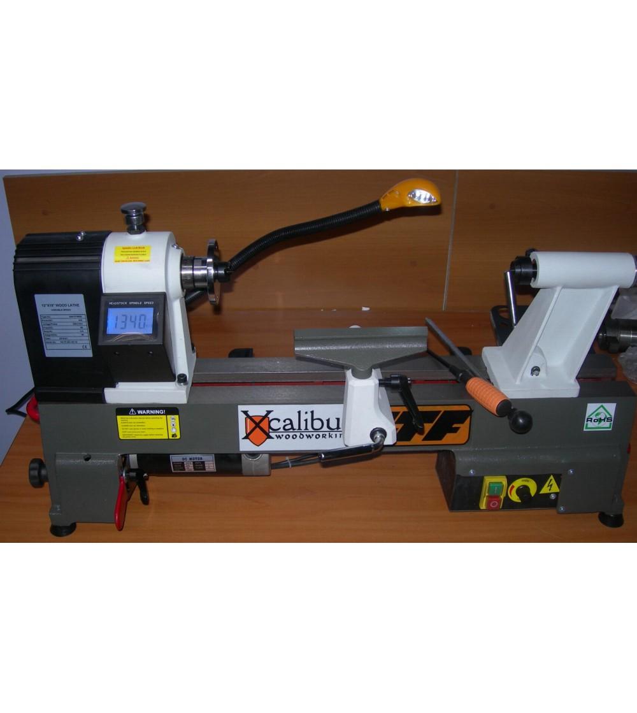 Tornio per legno x44 1218 xcalibur for Tornio piccolo usato